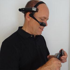 Datenbrille HMT1 im Einsatz