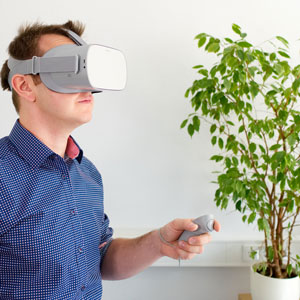 Training mit VR Brille